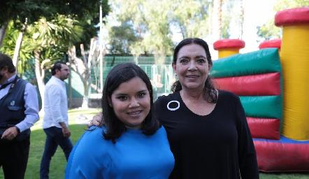 Marcela Puga y Marcela Nava.