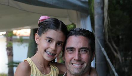 Xaviera y Rafael Lebrija.