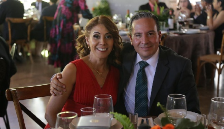 Selene Lara y Jaime Rosales.
