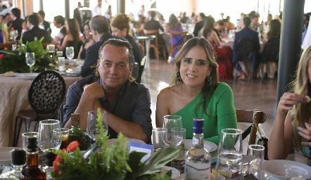 Fernando Torres y Griselda Ruiz.