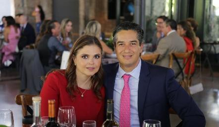 Cecilia Ponce y César Ramos.