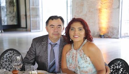 Raúl y Liliana.