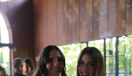 Pau Correa y Fernanda Del Valle.