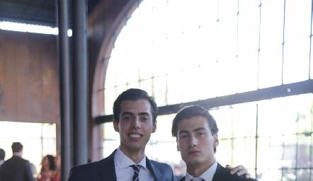 Mauricio de Luna y Santiago Figueroa.