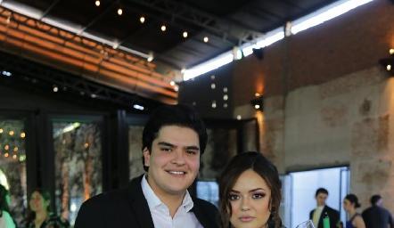 Kevin Hervert y Nayive Pérez.