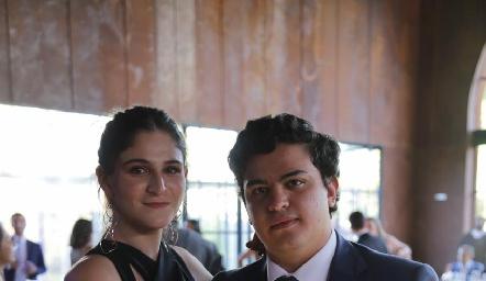 Daniela Velasco y Rodrigo Gutierrez.