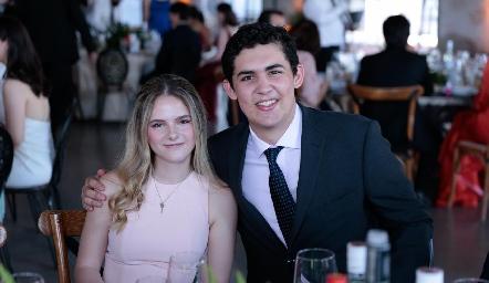 Sofía Usabinga y Mauricio Abaroa.