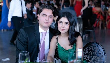 Víctor Berrones y Ana Pau Lafuente.