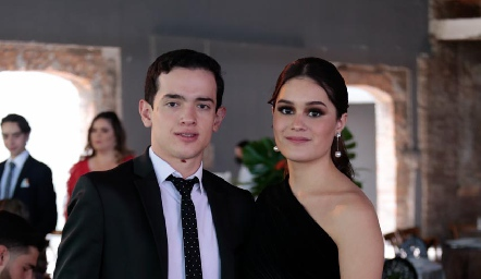 Emiliano Díaz de León e Isabela Armendáriz.
