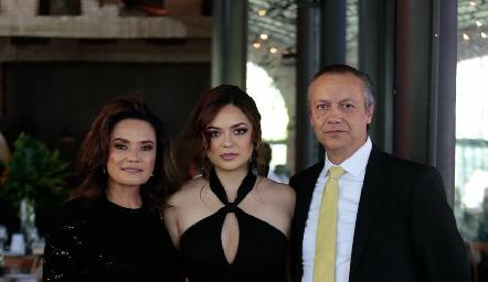 Aida Palau, Nayive y Mario Alberto Pérez.