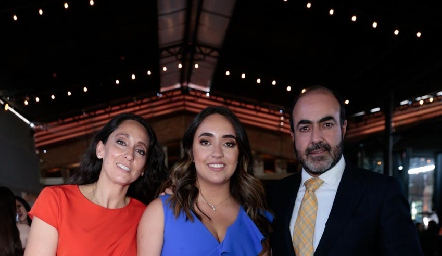 Tatina Torres, Tatina y Gustavo Puente.