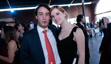Rodrigo Herrera y Melissa Elizondo.