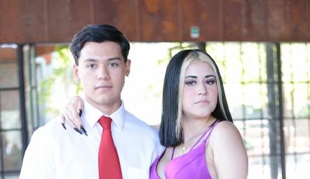 Erick Mora y Kimberly Gómez.