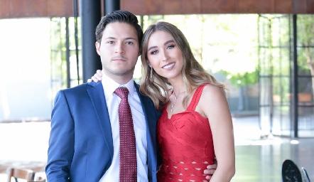 Alejandro Stevens y Sofía Vallejo.