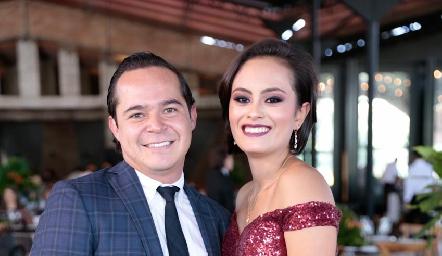 Alejandro Reynoso y Lila Sánchez.