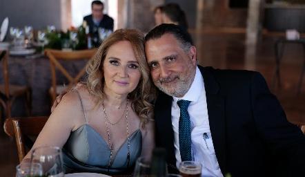 Ema Moreno y Juan Zarur.
