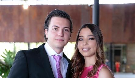 Humberto Morones y Adriana Vizcaino.