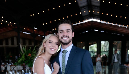 Emilia García y Marcelo Navarro.