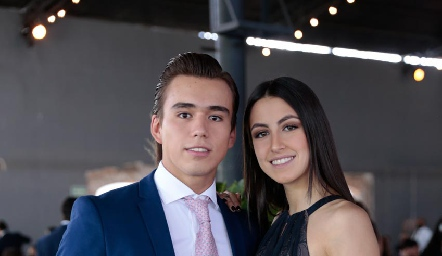 Oscar Ruiz y Ximena Nieto.