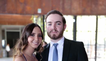 Paola Correa e Ismael Herrera.