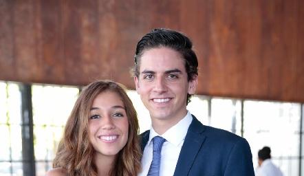 Priscila Martínez y Andrés Burgos.