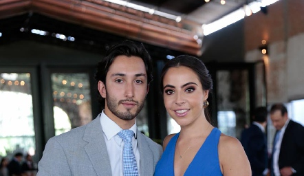 Sebastián Ramírez y Mariana Anaya.