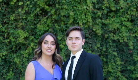 Tatina Puente y Arturo Navarro.