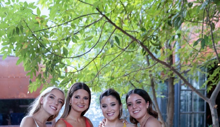 Emilia García, Valeria Ramos, Inés González y Selene Rosales.