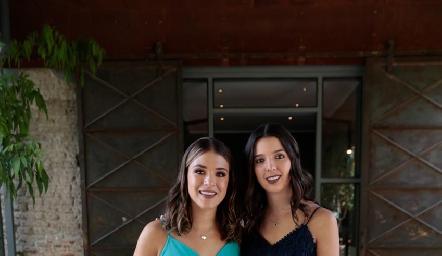 Fer Rodríguez e Isa Villanueva.