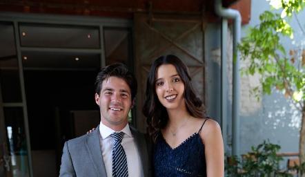 Miguel Meade e Isa Villanueva.