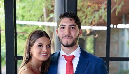 Valeria Ramos y Armando Martínez.
