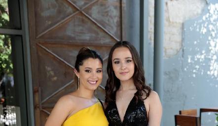 Inés González y Teté Macías.