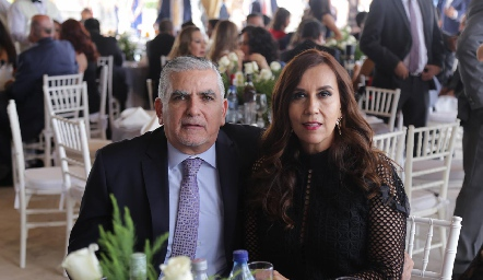 Alfonso Rivera y Tere Agoitia.