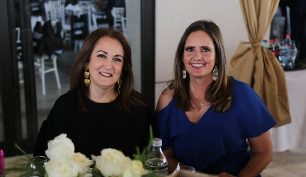 Laura del Pozo y Marcela Payan.