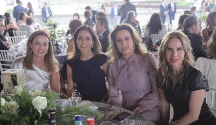 Romina Madrazo, Came Stevens, Erika Rodríguez y Maiela Conde.