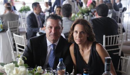 Gianfranco Pizzuto y Alejandra Allende.