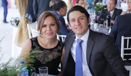 Sandra Trejo y Gabriel Correa.