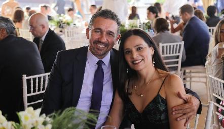 Jorge Navarro y Rosy Martínez.