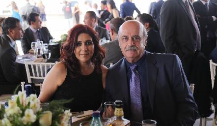 Claudia Guerrero y Ramiro Cárdenas.