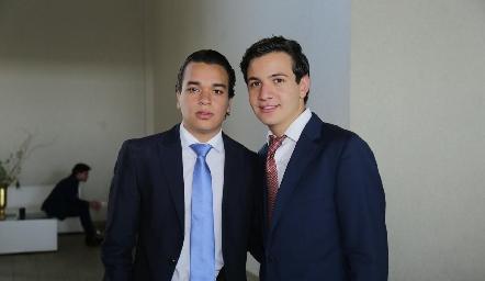 Manuel Flores y Josera Gómez.