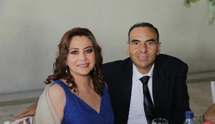 Rocío García y Manuel Betancourt.