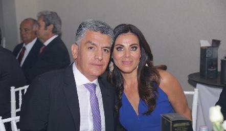 Pepe y Fabiola Suárez.