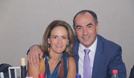 Daniela Coulon y Fernando López.