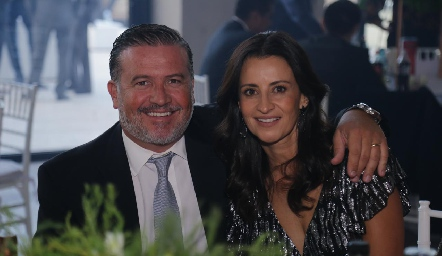 Rodrigo Gómez y Mónica Galarza.