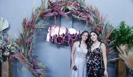 Natalia Martínez y Sofía Díaz de León.