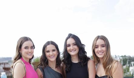 Lorena de la Garza, Carola García, Lorenza Gárate y Pía Benavente.