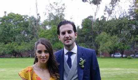 Ana Pau de los Santos y Eduardo Torre.
