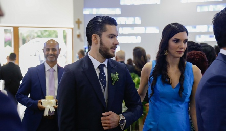 Boda de Armando Cosío y Paola Torre.