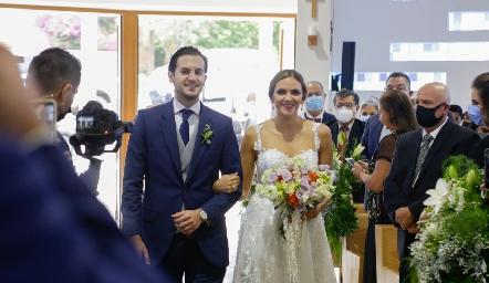 Eduardo y Paola Torre Gómez.