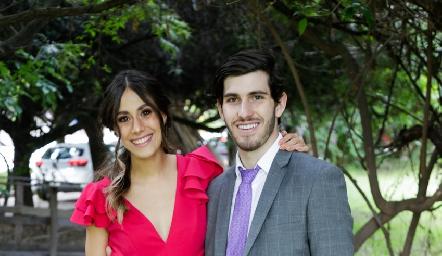 Alba y Rodrigo Cosío.